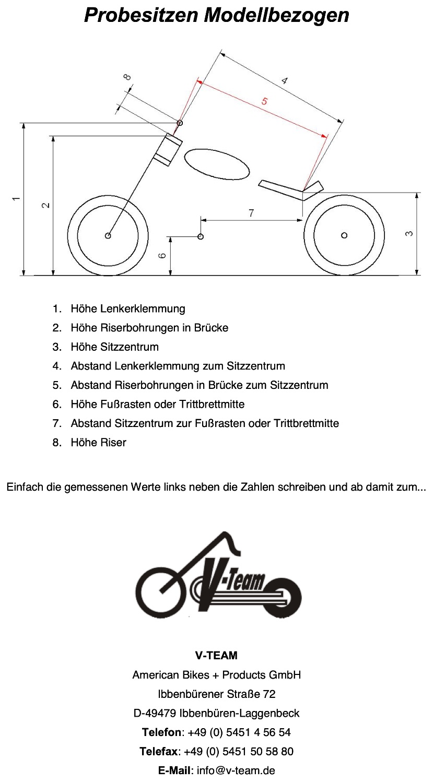 Probesitzen - V-Team American Bikes